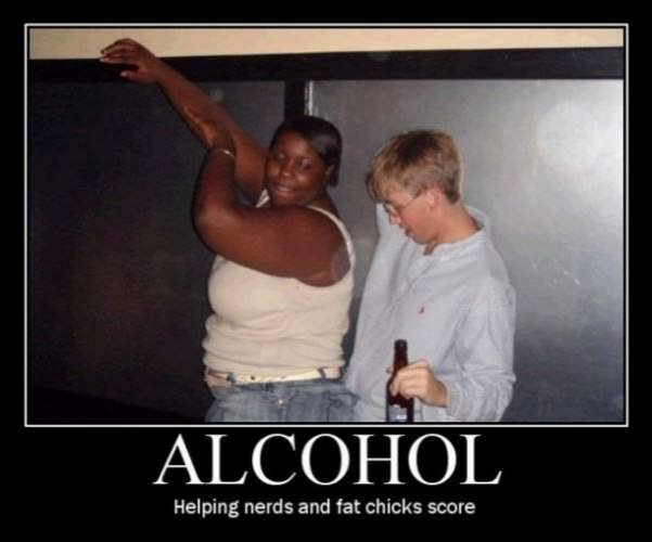 alcohol helps