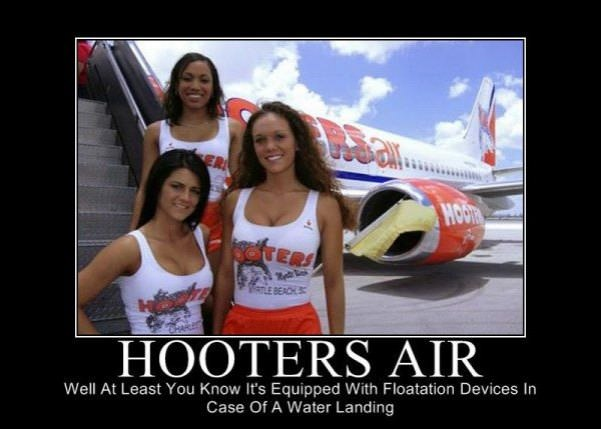 hooters air