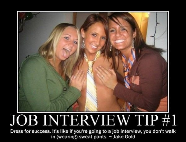 job interview tip